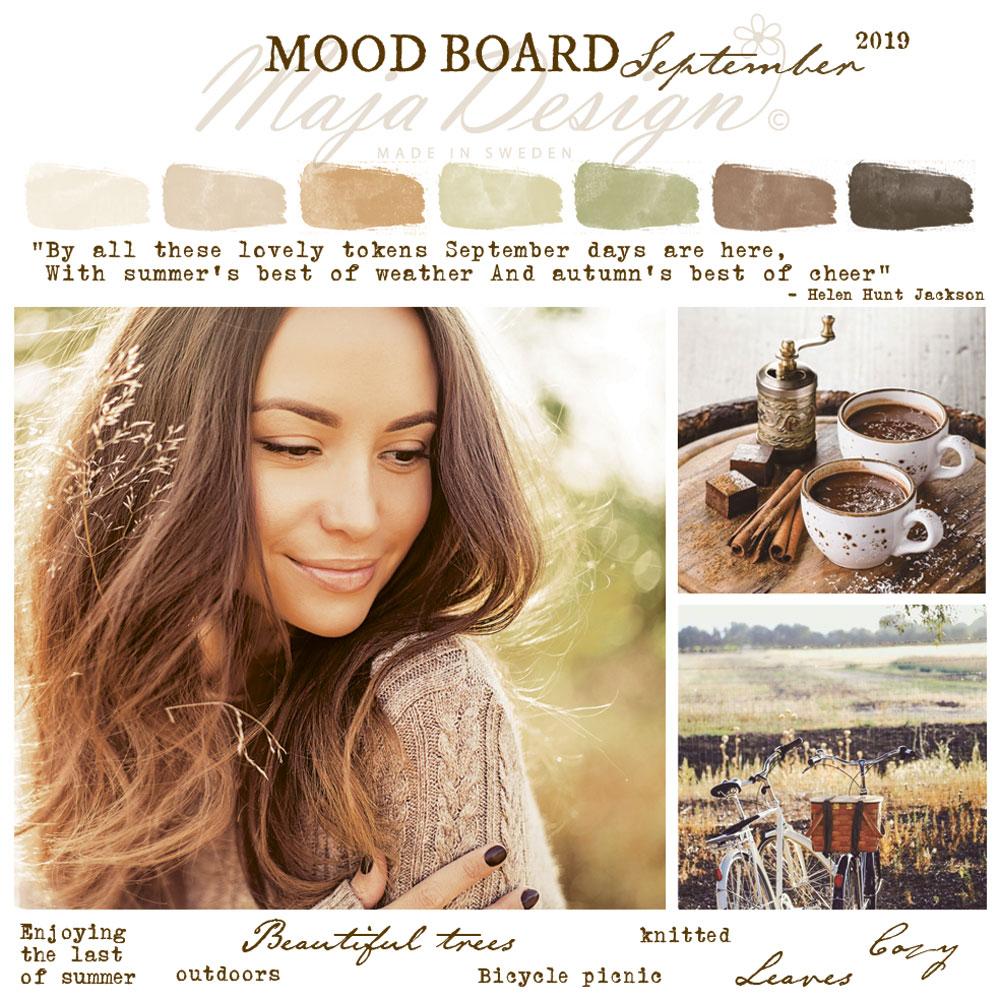 Mood board Мajadesign