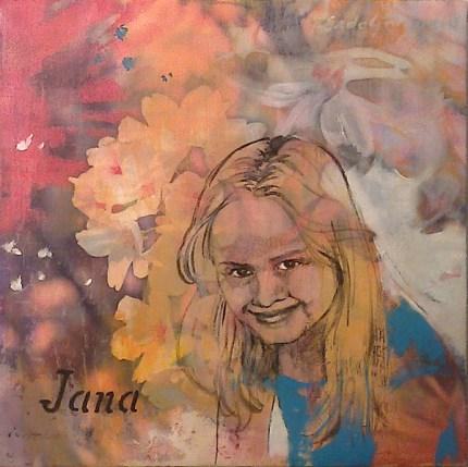 Jana, 30 x 30 cm