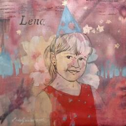Lena, 30 x 30 cm