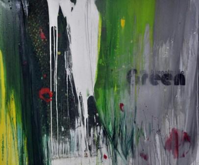 SYMPATHETIC GREEN, 100 x 120 cm