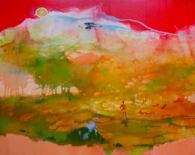 LILAC BUSH, 80 x 100 cm, 2019