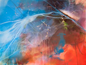 DANUBE BY NOVI SAD, 60 x 80 cm, 2018