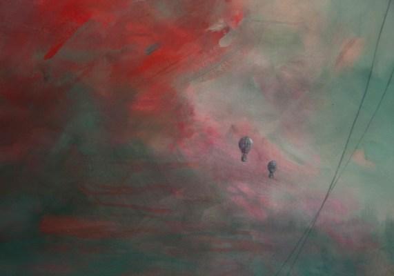 HOT AIR, 200 x 75 cm, 2018 (DETAIL)