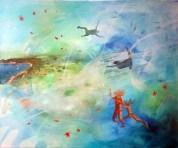 LETNJE RADOSTI 03, 50 x 60 cm, 2017
