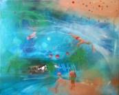 LETNJE RADOSTI 05, 50 x 60 cm, 2017