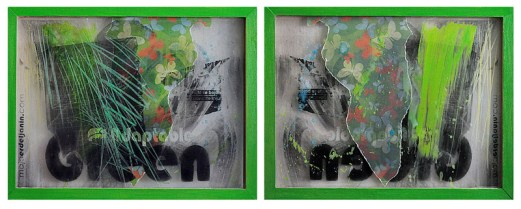 ADAPTABLE GREEN, , 30 x 40 cm
