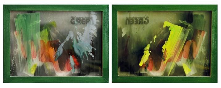 COMPASSIONATE GREEN, 30 x 40 cm