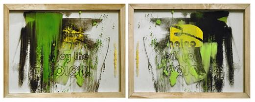 ENJOY THE COLOR, 40 x 30 cm