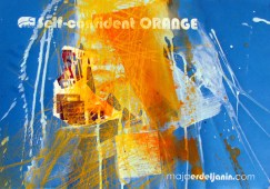 SELF-CONFIDENT ORANGE