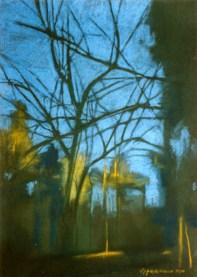 TREE AND LEAF: PASTEL 03