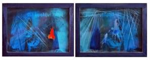 TACTFUL BLUE, 20 x 30 cm