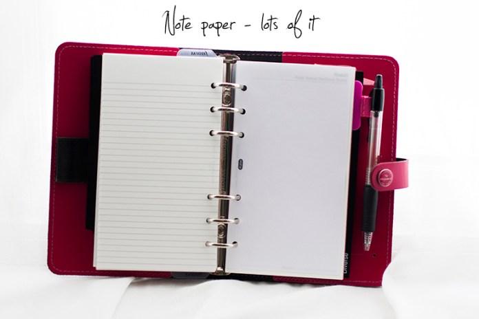Filofax_note_paper