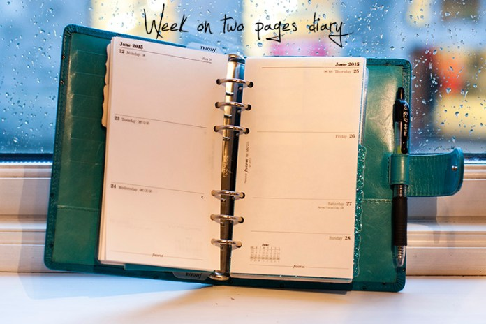 Blog post about my custom made Van der Spek planner, and some photos to show you how I set it up!