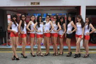 Umbrella Girls today at Sentul just for you....Bikeart Readers