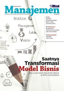 Majalah Manajemen Edisi Januari – Februari 2016