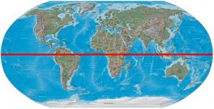 world_map_with_equator