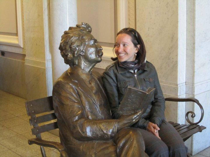 Maja Lucas Mark Twain Berkeley