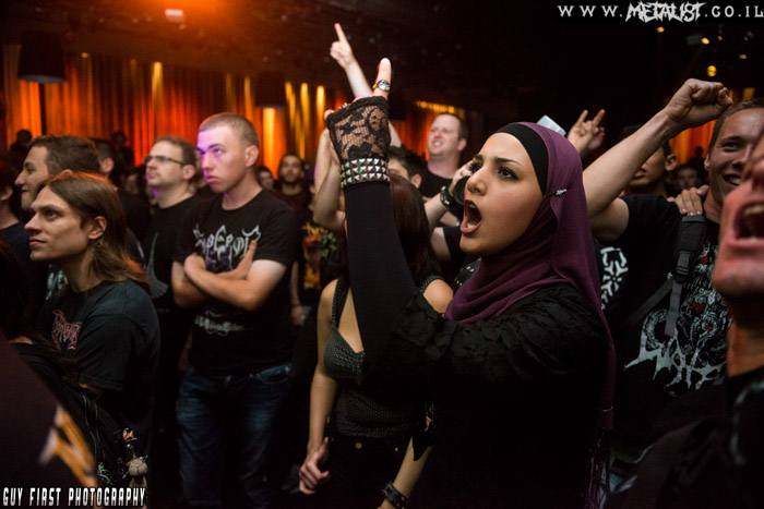 Arab Girl Metalhead