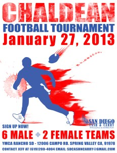 Chaldean Football Tournament 2013