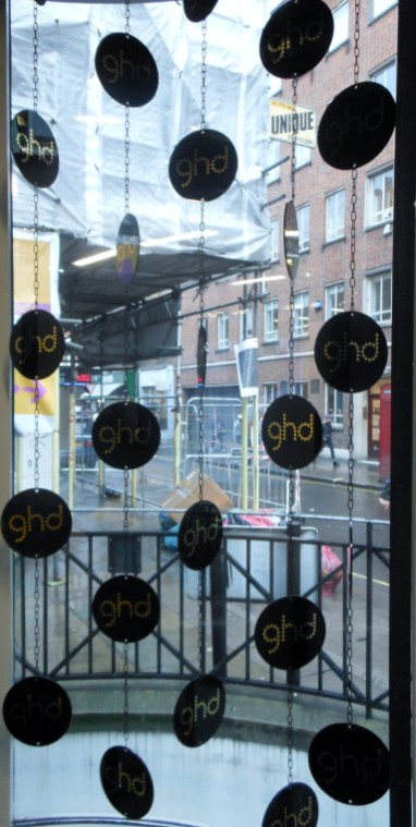 Ghd pop up for London Fashion Week