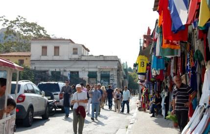 Flea market greece