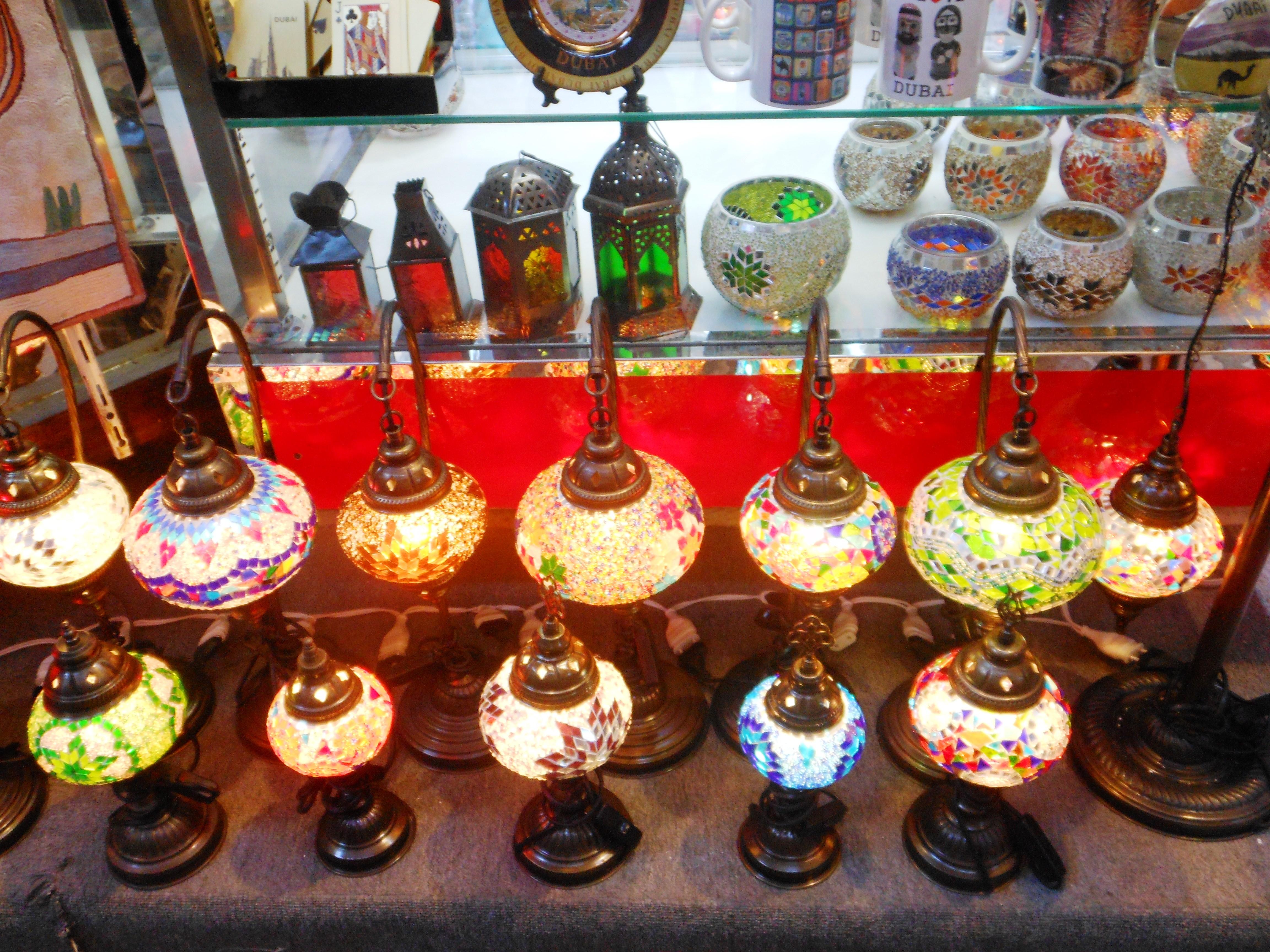lamps in zouk, Bur Dubai