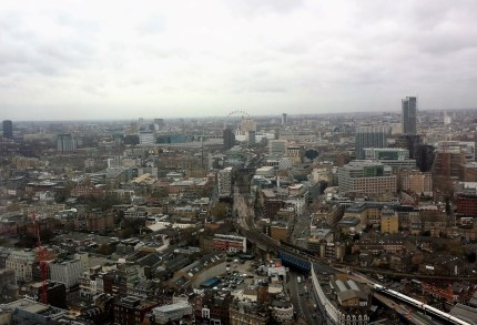 View from Hutong, the shard