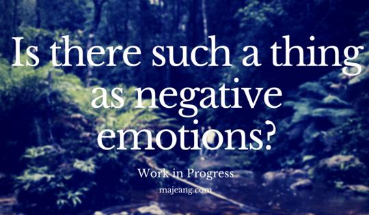 negative emotions on majeang.com