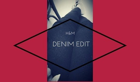 h&m denim edit on work in progress www.majeang.com