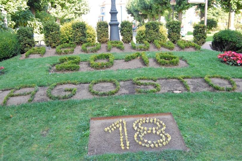 Date in gardens, A Coruna Spain on www.majeang.com
