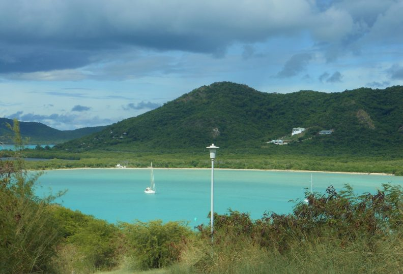 Jolly Harbour mountain Antigua