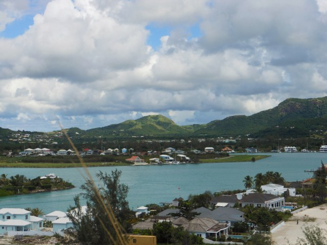 Overview jolly harbour antigua