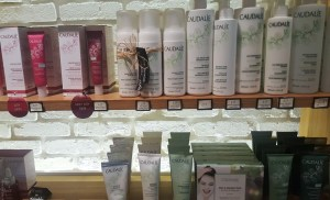 Caudalie display