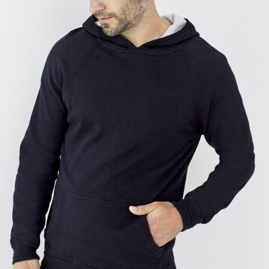 Affordable Luxury giftguide- White company cotton cashmere hoodie
