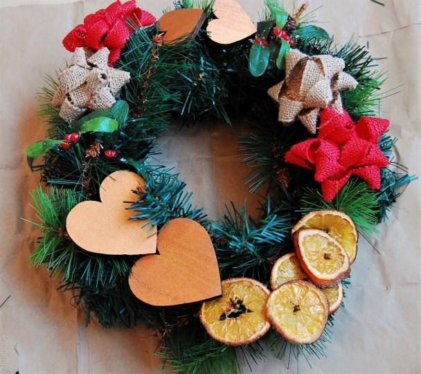 diy wreath final