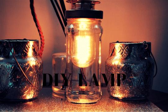 diy edison lamp