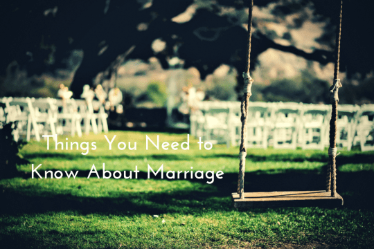 things you need to know about marriage on majeang.com