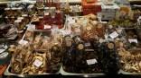 Las Ramblas market spanish sausages