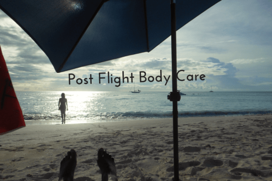 post flight body care, on www.majeang.com