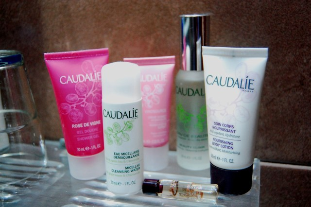 Travelling with caudalie- caudlie products