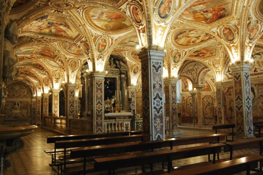 salerno cathedral crypt