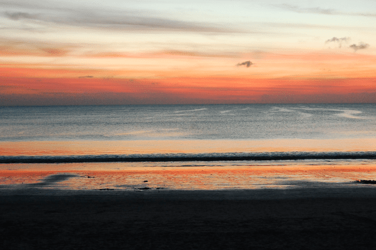 Building a healthier mindset - Bali sunset