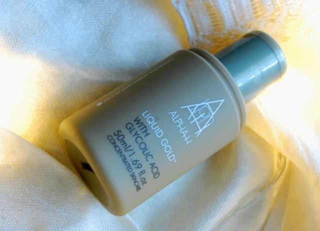 the beauty of acids- Alpha H liquid gold