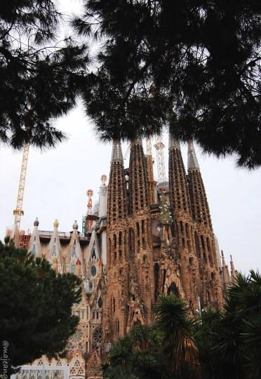 looking back at 2017- La Sagrada familia