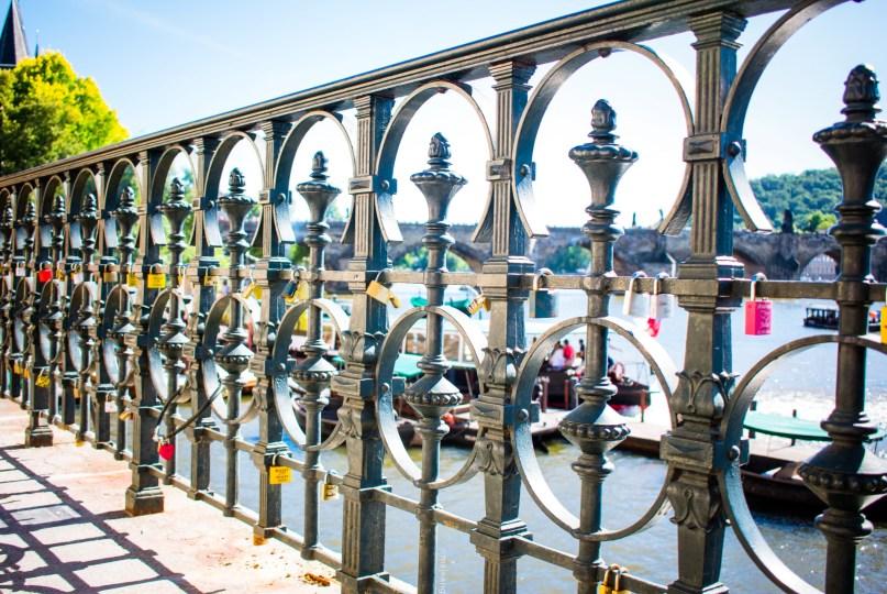 Prague - lock bridge