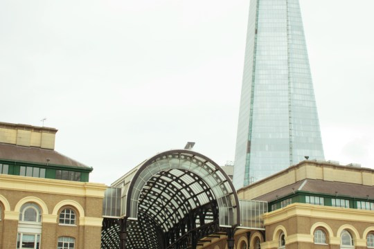 exploring london bridge challenge - hays galleria