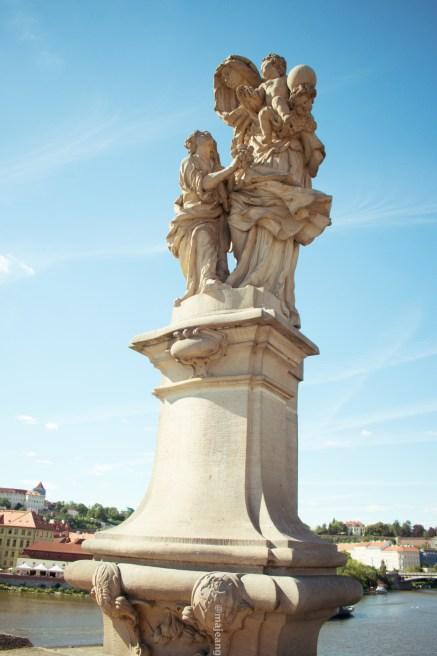Prague - statue