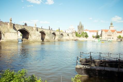 where I went in 2018- bridge, Prague