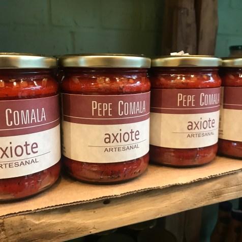 The Mestizo Mexican market- chillies