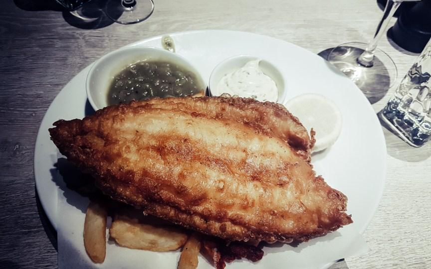 Fish! Kitchen Borough Market- fish and chips